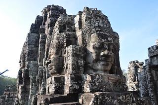 Bayon temple, Angkor Thom, Cambodia | by Matty Bishwam