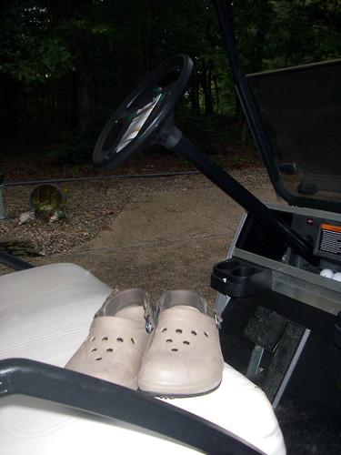 Golf Crocs