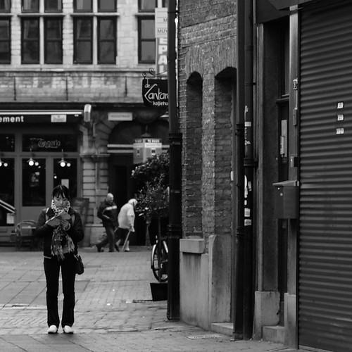 tourist in Antwerpen
