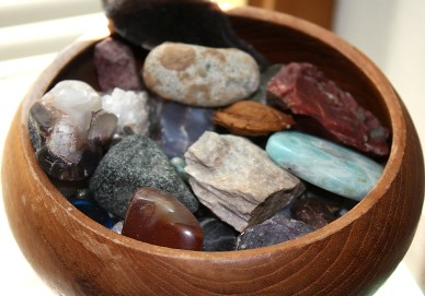 Image result for bowl of rocks