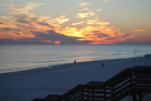 sunset florida destin