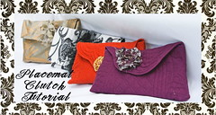 Placemat Clutch Tutorial | by ohsohappytogether