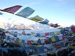 Gokyo Rei (Tibetan Prayer Flags)   by everlutionary