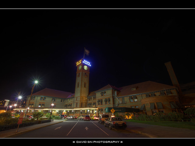 Union Station at Night - HDR