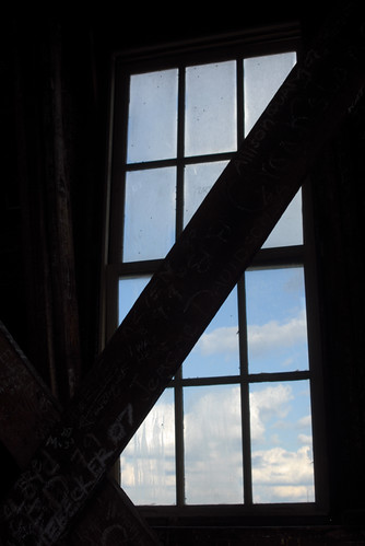 Old Main Tower Window