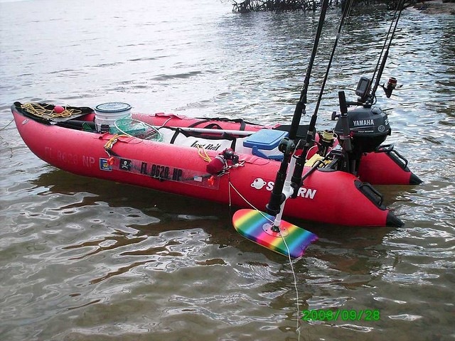 Saturn Inflatable Crossover Kayak + Boat = KaBoat | KaBoat i