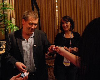 Peter Shankman selling Pokens at Affiliate Summit East | by BenSpark