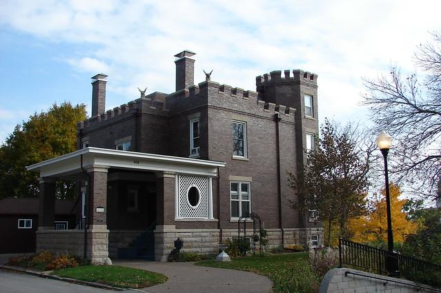 1909 Castle house-Davenport,IA