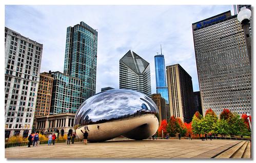 Cloud Gate - Millemnium Park (Chicago) | by dhilung