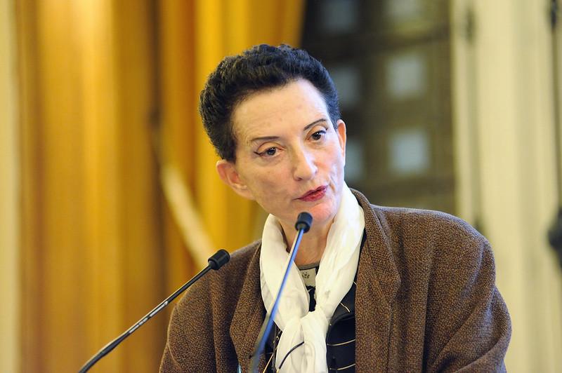 Hélène Cixous, écrivain philosophe lors de l'Université sur le Travail
