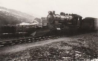 Lokomotiv på Lundamo (1929)