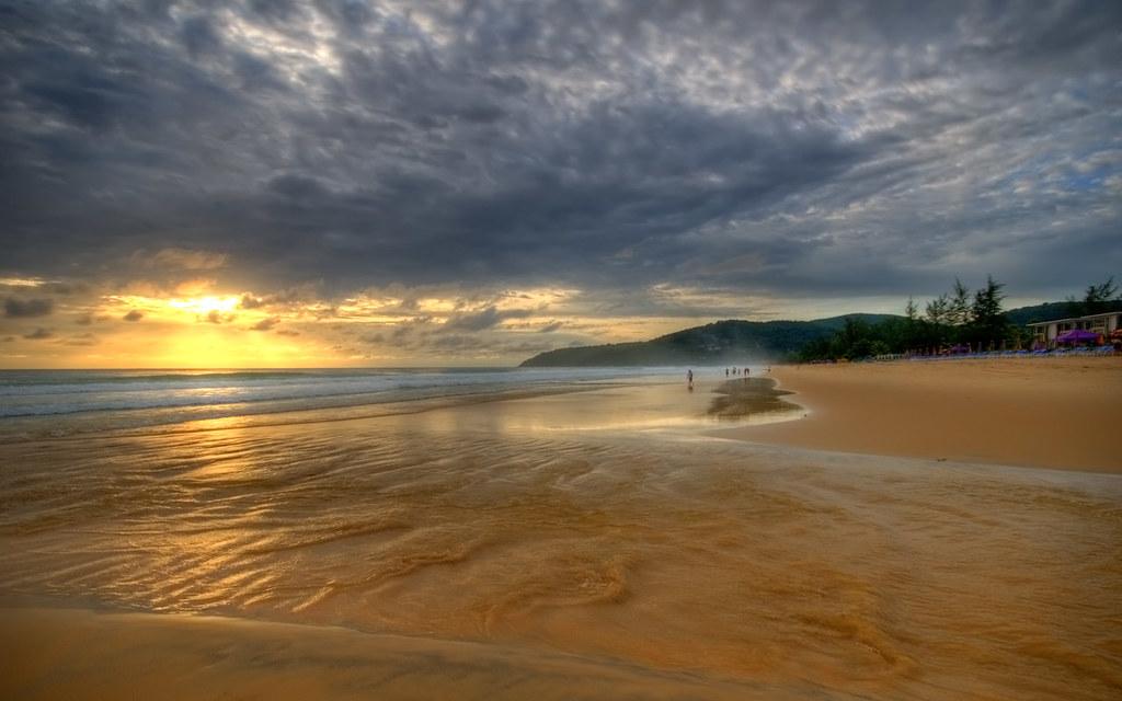 Karon Beach Sunset, Phuket.