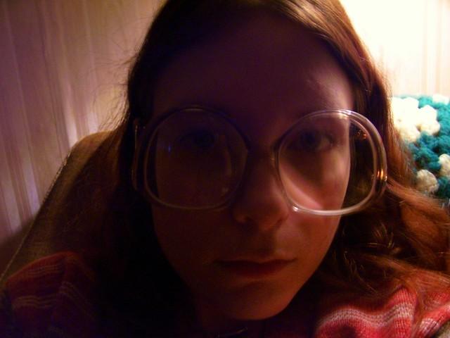 Big 70's Glasses
