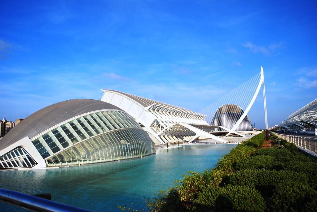 Ciudad De Las Artes Y Las Ciencias Valencia Spain Flickr