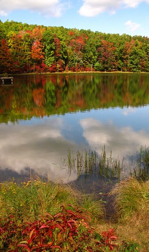 autumn reflection wv westvirginia coopersrock canonpowershotsx10is