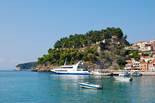 View of the castle in Parga | by Matt Taylor