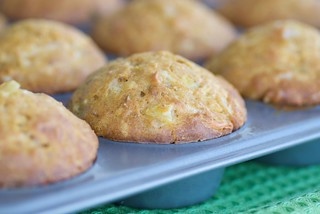 Butternut Squash Muffins with Apples, Sage and Cheddar Cheese | by Food Blogga