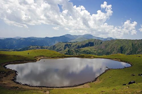 pakistan lake nature water pond day cloudy himalaya sar ajk azadkashmir hajipir bedori jabbi keeran neelfarry