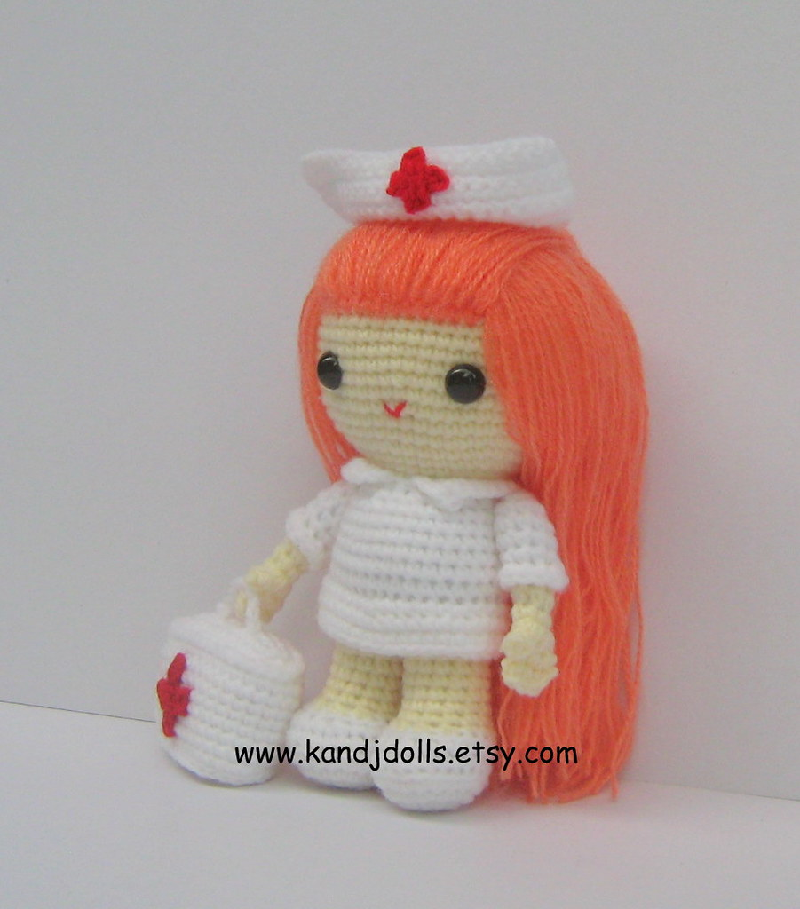 Nurse Jazzy Amigurumi Crochet Pattern (English Edition) eBook ... | 1024x901