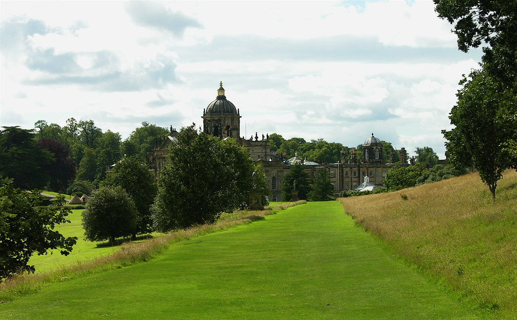 Castle Howard Yorkshire Castle Howard Is A Stately Home In Flickr