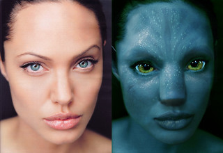 angelina-AVATAR  - comparacion | by Baltasar Vischi
