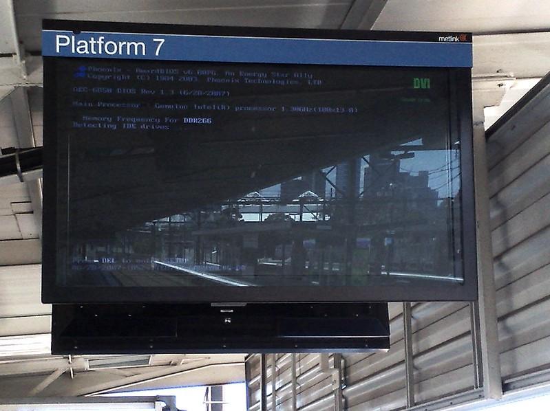 Richmond Station, platform 7