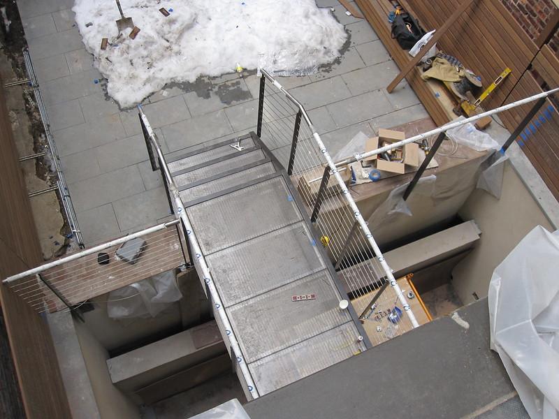 Bridge installation from above