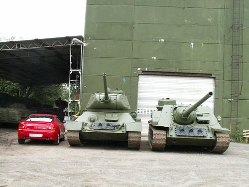Am Panzer - Parkplatz Heidenau ein korruptes Regime stürzen 009