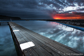 Sunrise @ Narrabeen | by -yury-