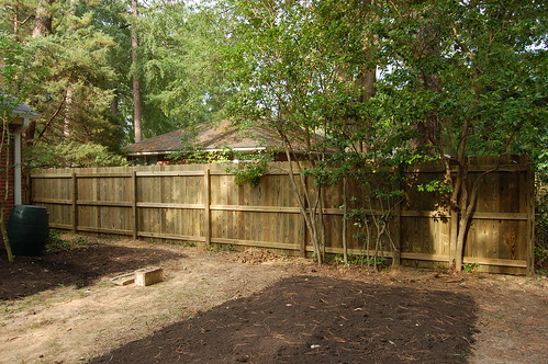 New fence built at our house | by skvidal