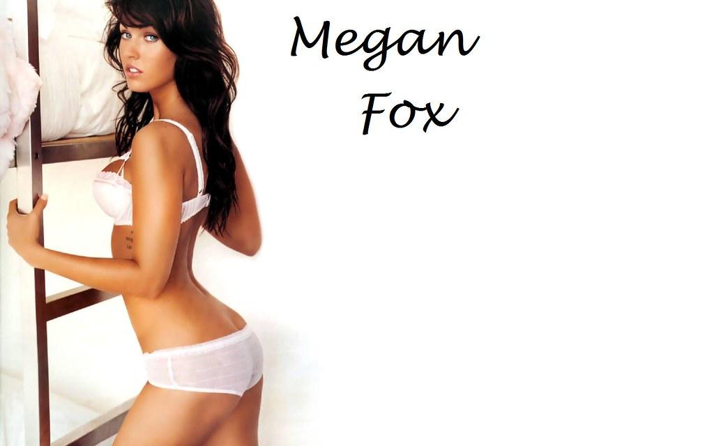 Megan Fox White Panties