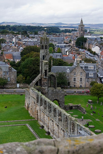 Cathedral from St. Rule's Tower   by climens