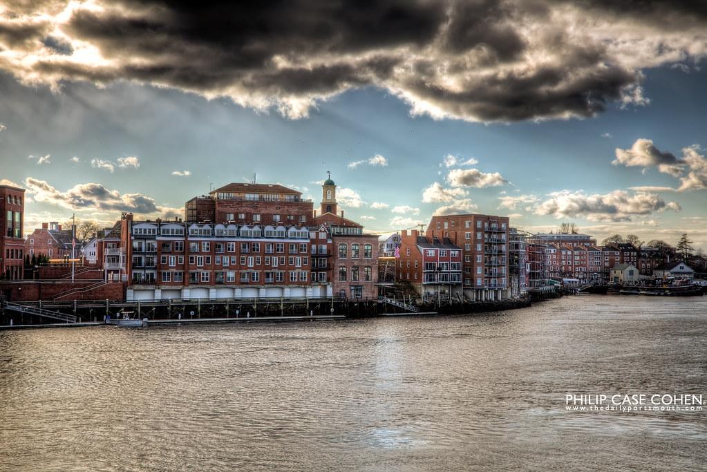 Portsmouth's Skyline by Philip Case Cohen