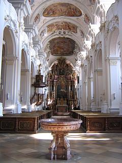 Klosterkirche Niederaltaich - Niederbayern