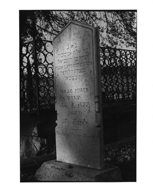 Jackson, California Gold Rush Cemeteries: Ira Nowinski photographs, 1983-1984