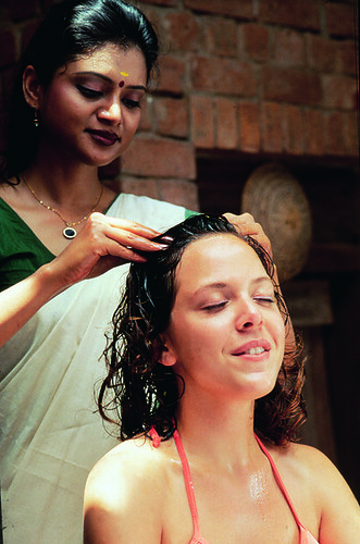 Head massage | by Kerala Tourism