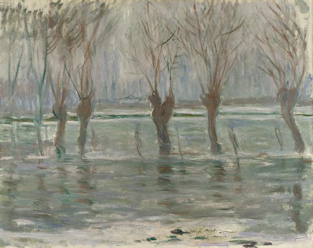 W 1439 - Claude Monet:  Flood waters (1896)