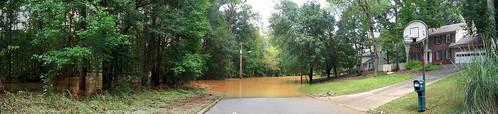Neighborhood Flooding Panorama