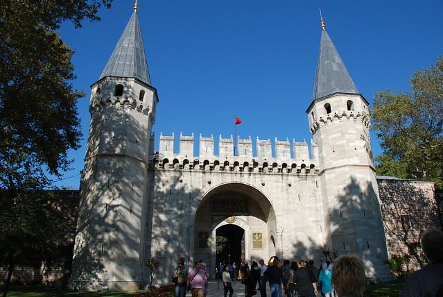 Istanbul.Le palais de Topkapi._26