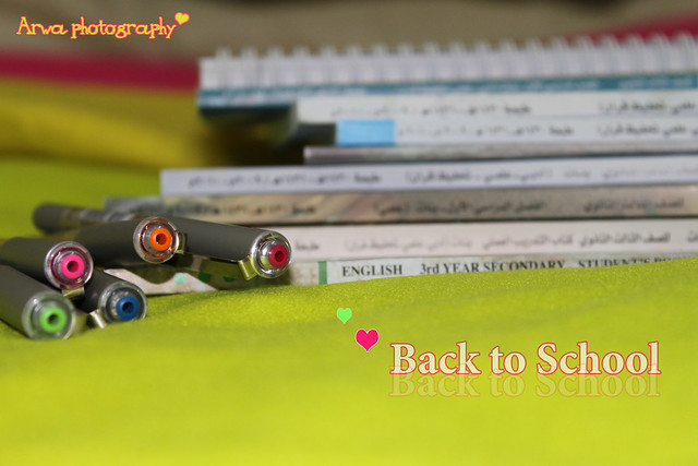 Back to school  ~,,,