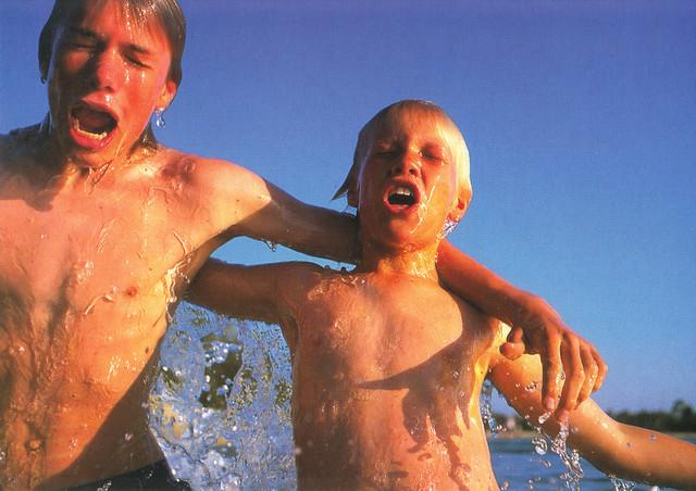Australian Brothers Postcard