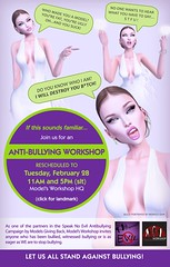 Anti-bullying Workshop RESCHEDULED to Feb 28