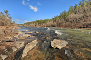 Cahaba River, Cahaba River National Wildlife Refuge, Bibb County, Alabama 2 | by Alan Cressler
