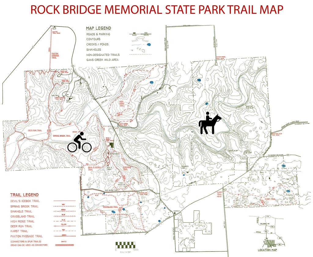 High Bridge Trail Map on