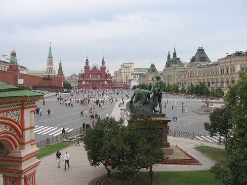Red Square from St Basil's | by johnpmenzel