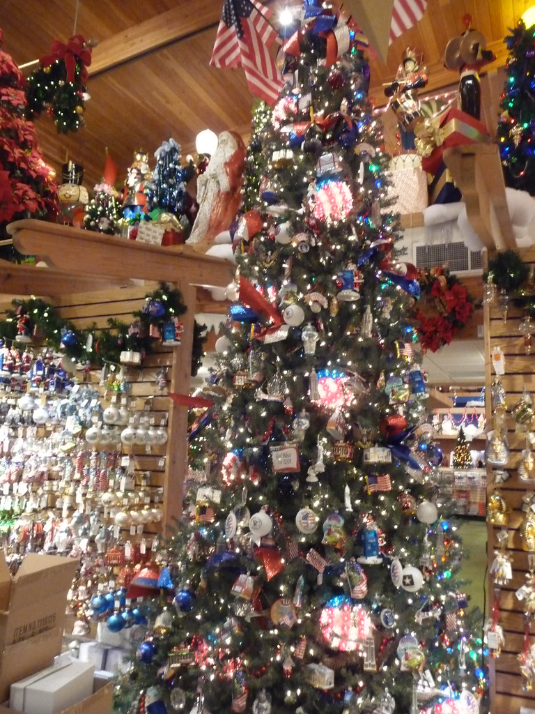 Patriotic Christmas Tree.Patriotic Christmas Tree Bronner S Creed 400 Flickr
