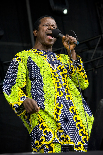King Sunny Ade   King Sunny Ade & His African Beats perform