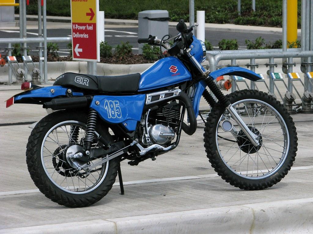 Suzuki Ts 185 like yamaha dt xt   1981 Suzuki Ts185er, fully
