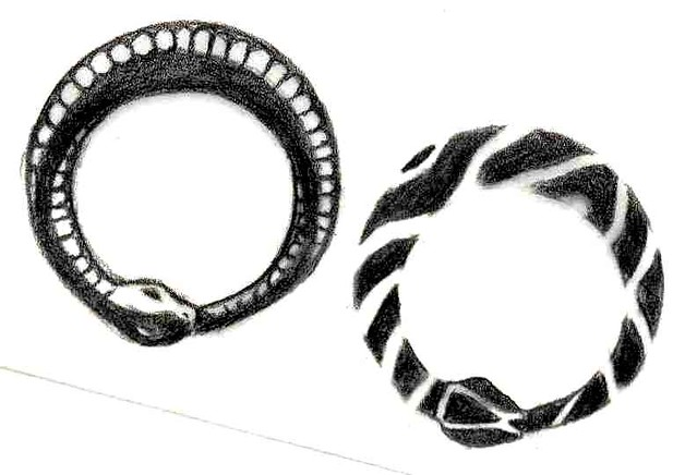 0c690c46b ouroboros (snake) tattoo design | Some of you asked for my o… | Flickr