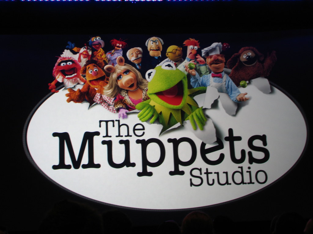 The Muppets Studio | The Muppets Studio logo was splashed wh… | Flickr